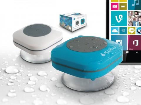 Hp669 haut parleur enceinte bt sans fil de salle de bain - Enceinte pour salle de bain ...