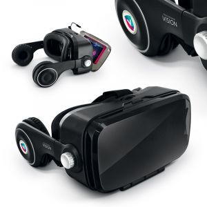 CASQUE - LUNETTE DE REALITE VIRTUELLE 3D - VR AVEC ECOUTEURS